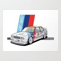 BMW - M3 E30 Dtm Art Print