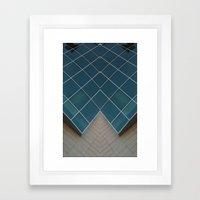 sym2 Framed Art Print