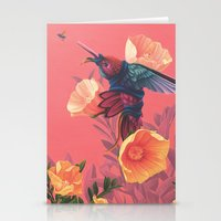 Pollinators II Stationery Cards