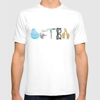 DFTBA Mens Fitted Tee White SMALL