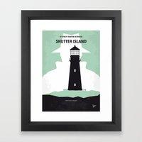 No513 My Shutter Island … Framed Art Print