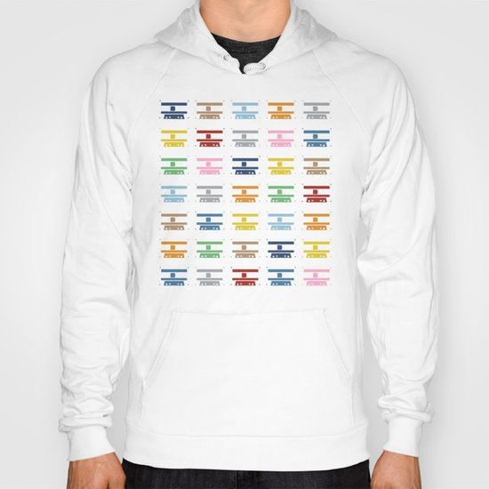 Rainbow Tapes Hoody