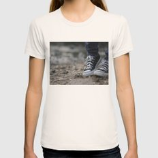 Converse Womens Fitted Tee Natural SMALL