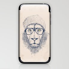 Cool lion iPhone & iPod Skin