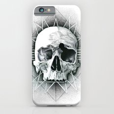Stippling Skull iPhone 6 Slim Case