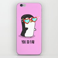 Fabulous Penguin iPhone & iPod Skin