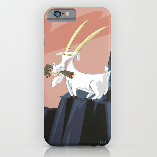Trashmouth Goat, the Frost Giant Slayer iPhone & iPod Case