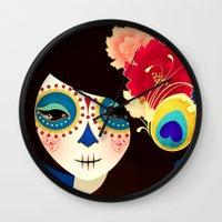 La Muertita ~ Candy Flavoured Wall Clock