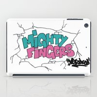 mighty fingers iPad Case