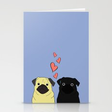 Pantone Pugs Stationery Cards