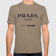 Marfa Mens Fitted Tee Tri-Coffee SMALL