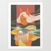 Light Bearer Art Print