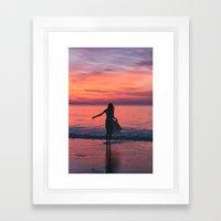 Sunrise Part 2 Framed Art Print