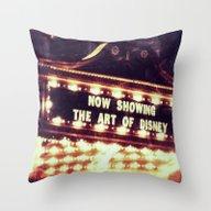 Disney Show Throw Pillow