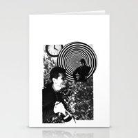 Spiraling Hopes Stationery Cards
