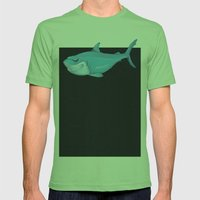 Toy Shark Mens Fitted Tee Grass SMALL