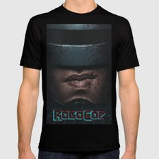 RoboCop Mens Fitted Tee Black SMALL