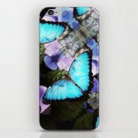 Morpho Bleu iPhone & iPod Skin