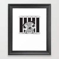 Inside Me, There's A Sof… Framed Art Print