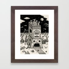 On the Outside Framed Art Print
