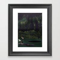 Portals: Forest Framed Art Print