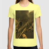 The Sniper Womens Fitted Tee Lemon SMALL