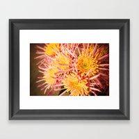 Autumn Fireworks Framed Art Print