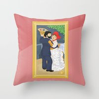 Dance In The Country By … Throw Pillow
