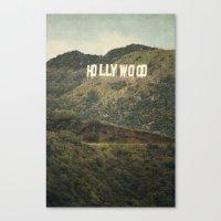 Hollywood (color) Canvas Print