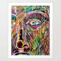 The Most Gigantic Lying Eyes Art Print