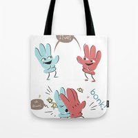High Five (gloves Versio… Tote Bag