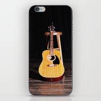 The Silent Guitar iPhone & iPod Skin