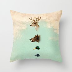 beauty not for sale Throw Pillow