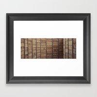 Tunnelwall Framed Art Print
