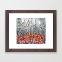 :: Run Free Woods :: Framed Art Print