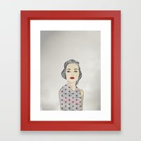 Silver Framed Art Print