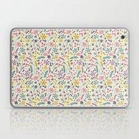 Retro Blooms (Candy) Laptop & iPad Skin