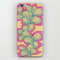 Drops And Petals 2 iPhone & iPod Skin