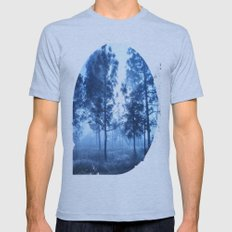 Black Forest Mens Fitted Tee Athletic Blue SMALL