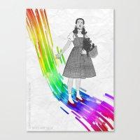 Somewhere Over The Rainb… Canvas Print