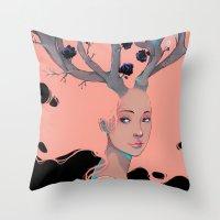Lady Cornue. Throw Pillow