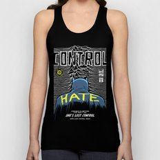 Post-Punk Bat: Control Unisex Tank Top