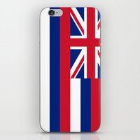 The State flag of Hawaii - Authentic version iPhone & iPod Skin