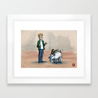 Broken Sword: The Shadow of the Templars Framed Art Print