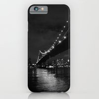 Manhattan Night Black & White iPhone 6 Slim Case