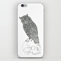 Night Owl  iPhone & iPod Skin