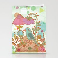 The Blue Bird Stationery Cards