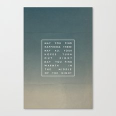 III. Find Happiness Canvas Print