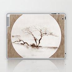 Scots Pine Paper Bag Sepia Laptop & iPad Skin