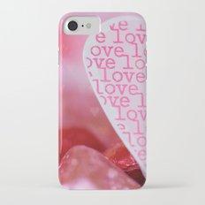 love love love iPhone 7 Slim Case